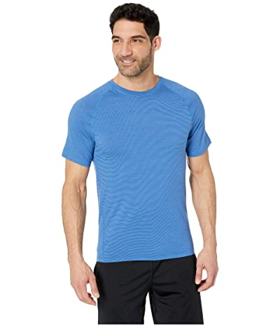 Smartwool Merino 150 Baselayer Pattern Short Sleeve (Bright Cobalt) Men