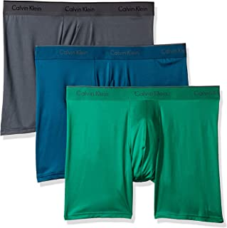 Calvin Klein Men's Underwear Microfiber Stretch 3 Pack Boxer Brief