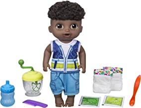 Baby Alive Sweet Spoonfuls Baby Doll Boy (Black Hair)