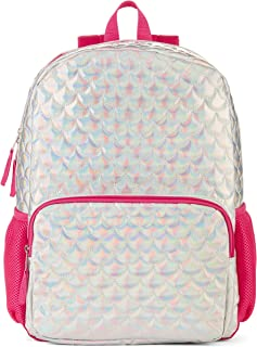 """Silver Scales Backpack 16"""" High X 12"""" Wide X 5"""" Deep"""