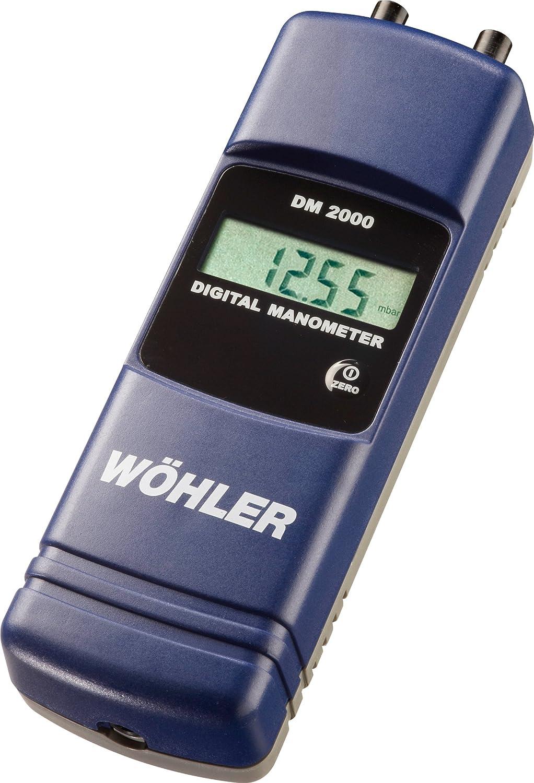 Wohler 7006 Free Washington Mall shipping on posting reviews DM2000 Digital Manometer + Differential Pressure o