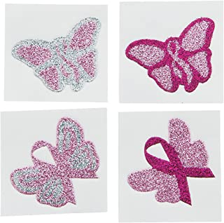 breast cancer awareness butterfly tattoo