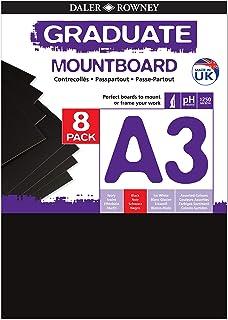 A3 Black Mount Board