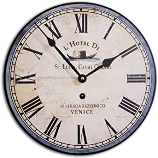 J. Thomas Italian Hotel Wall Clock 12