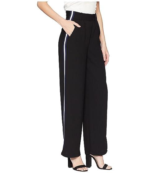 High ROMEO Striped JULIET Pants with Waist Side amp; COUTURE Wide Leg tqFzfq