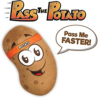 Move2Play Pass The Potato Game, Hilarious Talking Game For Kids, Family's, & Birthday Party's