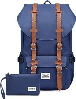 KAUKKO Laptop Outdoor Backpacks, Traveling Rucksack Fits 15.6 Inch Laptop