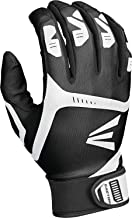 EASTON Gametime Batting Glove Series | Pair | Baseball Softball | Adult | Youth | 2020 | Smooth Goatskin Palm | Extra Durable Synthetic Thumb | Flexible 4 Way Stretch Mesh Back | Neoprene Strap