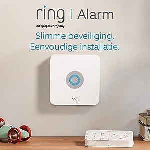 Ring Alarm - vijfdelige set - Huisbeveiligingssysteem met optionele geassisteerde bewaking - Geen langetermijnverplichtingen