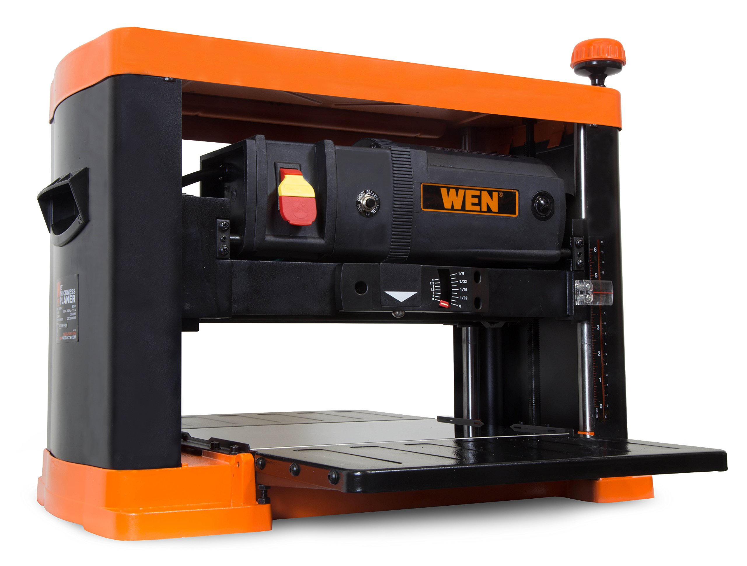 WEN 6552T 3 Blade Benchtop Thickness