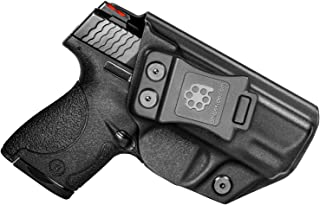"""Amberide IWB KYDEX Holster Fit: S&W M&P Shield & Shield M2.0-9/40-3.1"""" Barrel 