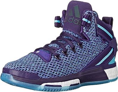 adidas Unisex-Child D Rose 6 Boost J Skate Shoe
