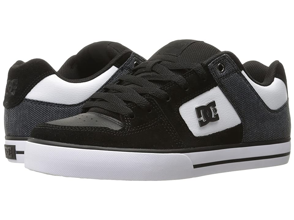 DC Pure SE (Black/White) Men