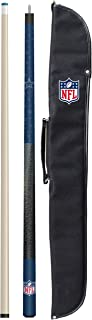 Imperial Officially Licensed NFL 57-Inch 2-Piece Billiard/Pool Cue with Soft Case