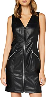 Only Onlsarah Faux Leather Dress Otw Vestido para Mujer