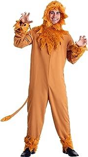 Plus Size Cowardly Lion Mens Costume 5X Orange