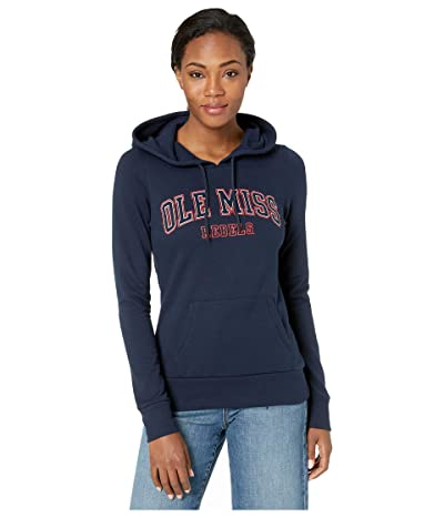 Champion College Ole Miss Rebels Eco(r) University Fleece Hoodie (Navy) Women