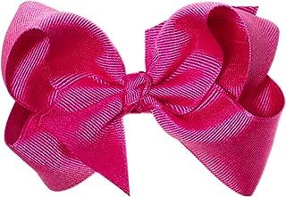Anna Belen Girls Lila Large Grosgrain Bow Clip