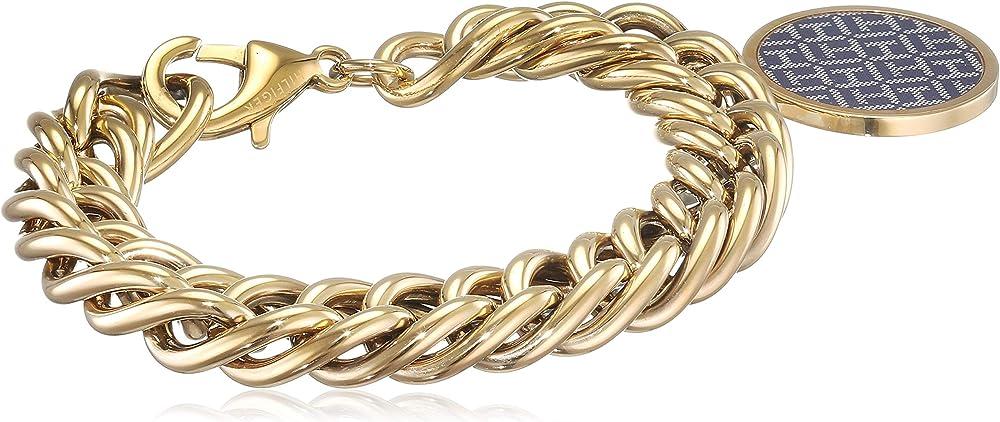 Tommy hilfiger braccialetto a catenina donna acciaio_inossidabile 2700973