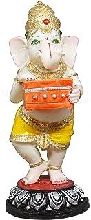 Saubhagya Global Rajan God Ganesh Idol/Murti/Statue Decorative Showpiece Gift Item for Car Dashboard
