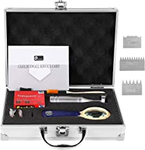 CGOLDENWALL Cross Hatch Adhesion Tester Cross-Cut Tester Kit Multi-Blade Cutter afstand: 1+0.01mm, 2+0.01mm