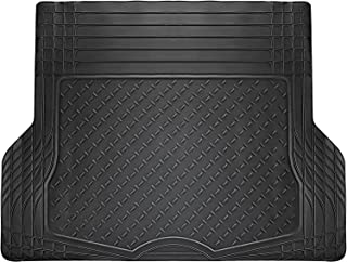 OxGord WeatherShield HD Rubber Trunk Cargo Liner Floor Mat, Trim-to-Fit for Car, SUV, Van, Trucks Black