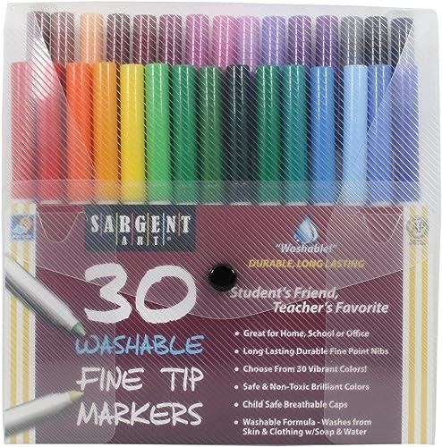 Splata Art 30unidades punta fina lavable marcador paquetes