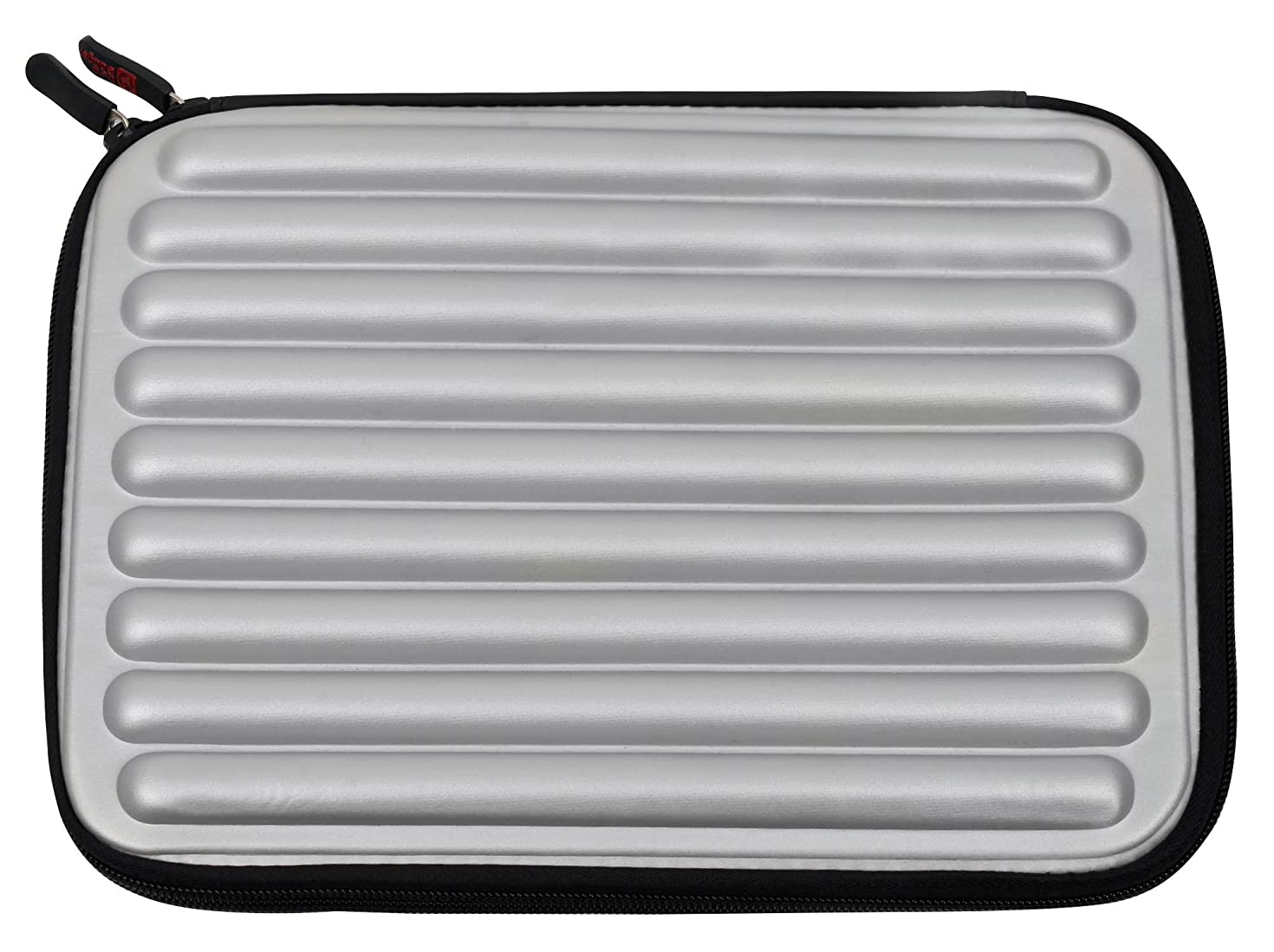 DURAGADGET Silver Laptop Sleeve/Case in Shock-Absorbing & Water-Resistant Memory Foam - Compatible with The Lenovo Yoga 910-13IKB