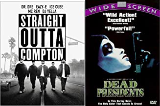 Hit the streets with Music Crime & Action & Straight Outta Compton & Dead Presidents Double Feature DVD set