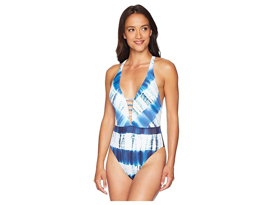 Lucky Brand Costa Azul One-Piece (Indigo) Women