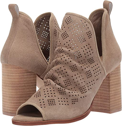 Stone Taupe Split Suede