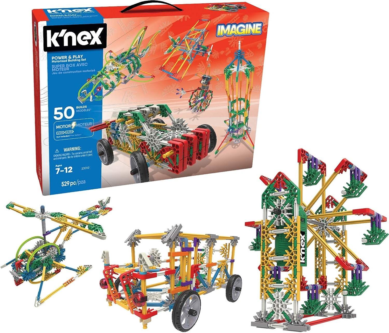 K'Nex 23012 Toy, Case, 525 Motorized Parts