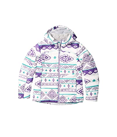Spyder Kids Timeless Hoodie Synthetic Down Jacket (Big Kids) (Sweater Weather Print) Girl