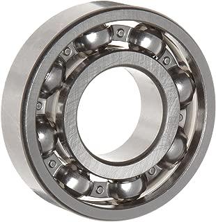WJB 6308 Deep Groove Ball Bearing, Open, Metric, 40mm ID, 90mm OD, 23mm Width, 9150lbf Dynamic Load Capacity, 5400lbf Static Load Capacity
