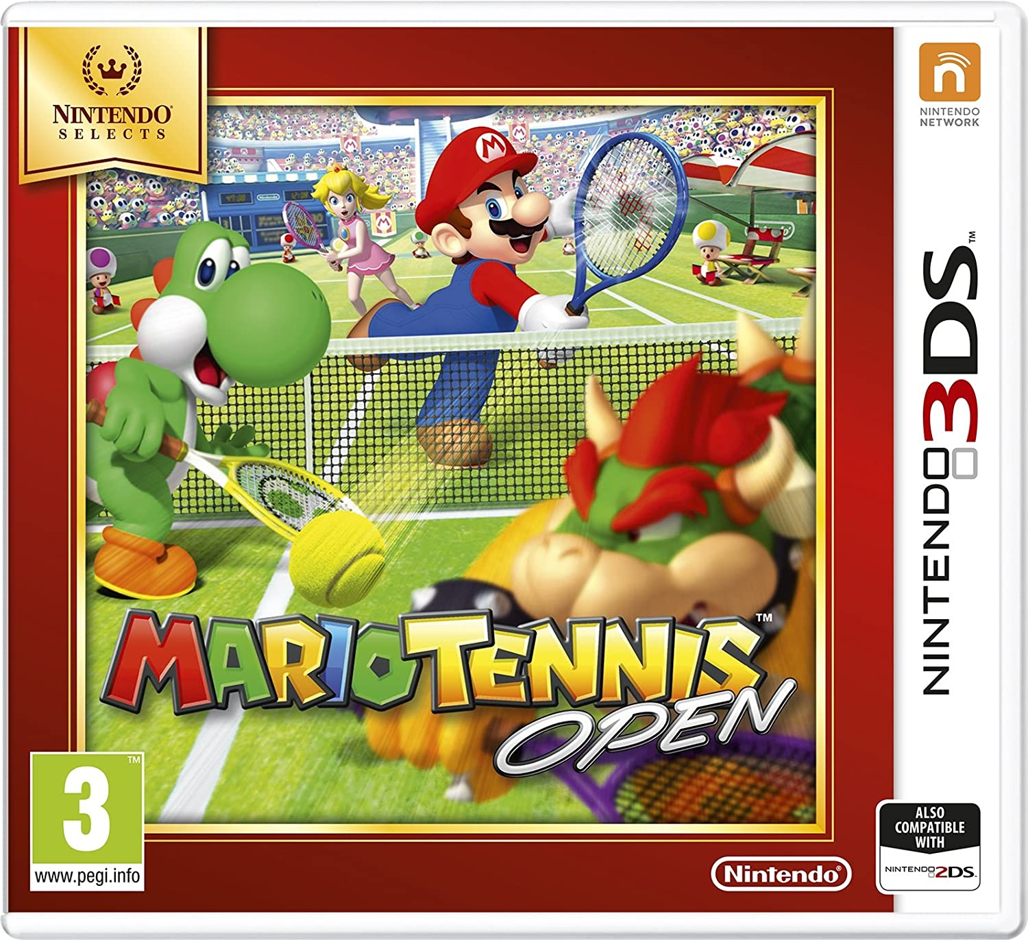 Nintendo Selects Free shipping anywhere in the nation - Mario half Open 3DS Tennis