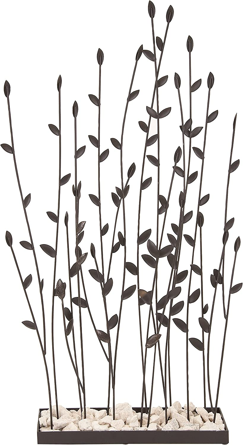 Deco 79 Metal Rocks Table Decor, 31 by 14-Inch