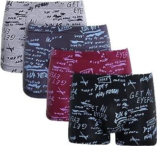 (リーフォー)LEAFOR ボクサーパンツ メンズ モダール素材 立体成型 前閉じ Boxケース付き 4枚組