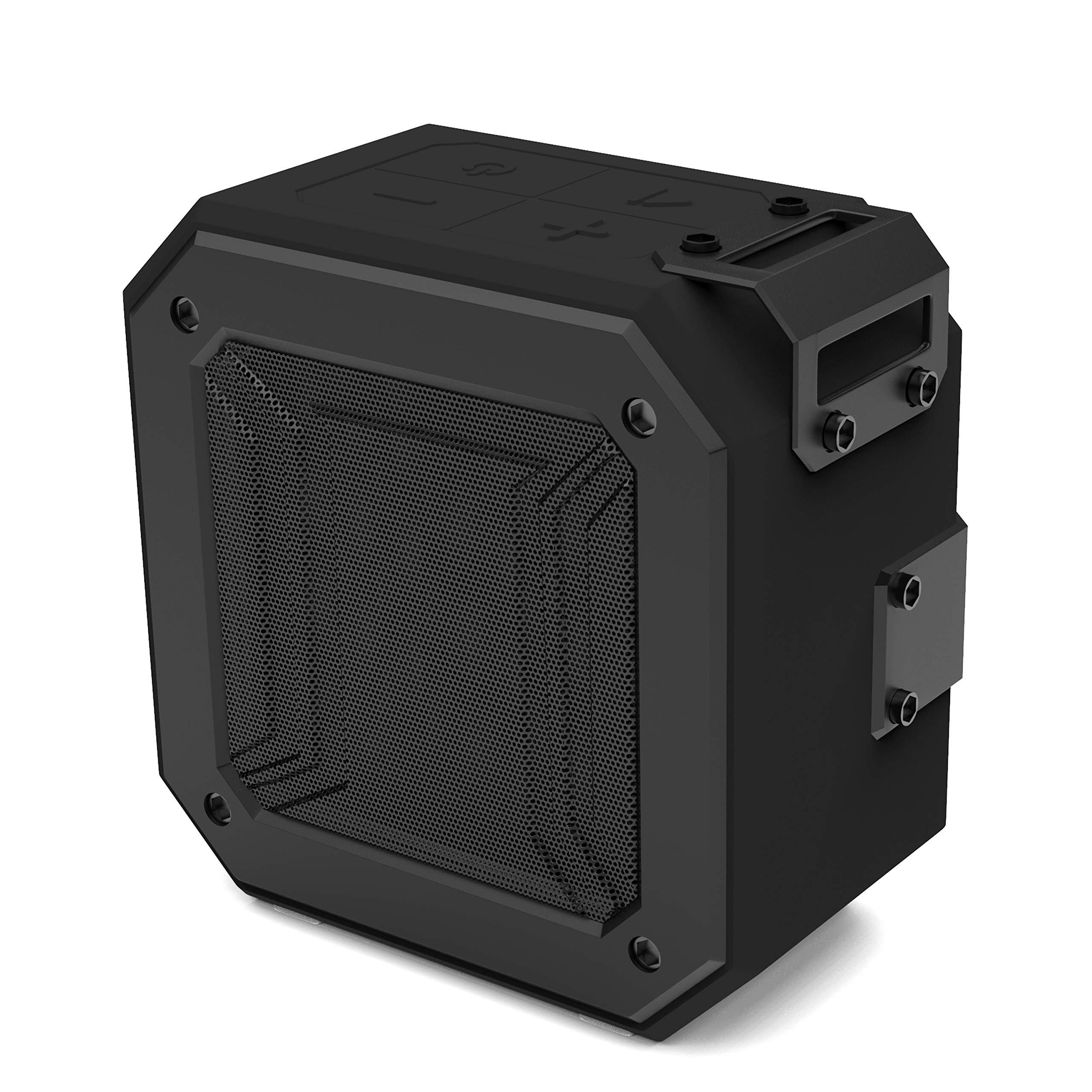 Staunch Thunder 600 6-Watt Bluetooth 5.0 Wireless Speaker with IPX6 Waterproof, TWS Function Support and HD Sound (Black)