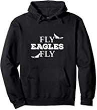 Fly Eagles Fly Funny Sport And Animal Wildlife Pullover Hoodie