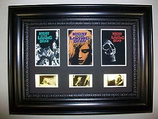 NIGHT OF THE LIVING DEAD Framed Trio 3 Movie Film Cell Memorabilia Display