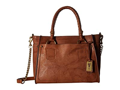Frye Demi Satchel (Whiskey Antique Soft Vintage) Satchel Handbags