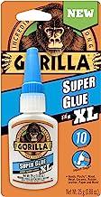 Gorilla Super Glue XL, 25 Gram, Clear, (Pack of 1),7400202