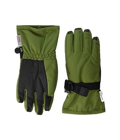 reima Reimatec Gloves Tartu (Infant/Toddler/Little Kids/Big Kids) (Khaki/Green) Ski Gloves