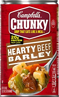 Best campbell's chunky beef barley soup Reviews