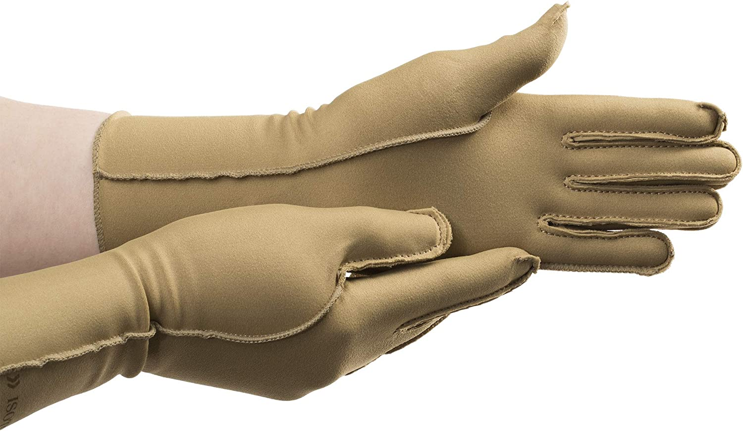 isotoner Unisex-Adult Therapeutic Compression Pain Relief Gloves