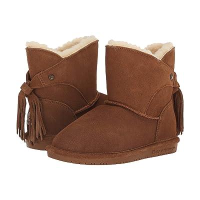 Bearpaw Kids Mia (Little Kid/Big Kid) (Hickory) Girls Shoes