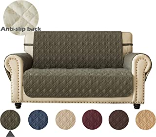 Ameritex Loveseat Cover Water-Resistant Quilted Furniture...