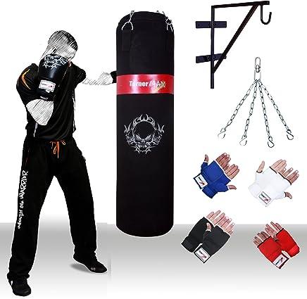 TurnerMAX Schwerer Sandsack, Kette, Tasche, Handschuhe, Wandbefestigung schwarz B002DJONPY       Speichern