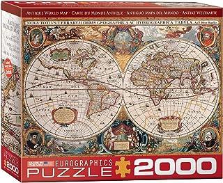 Eurographics 2000pcs - Antique World Map