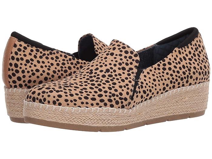Dr. Scholls  Frankley (Tan/Black Leopard) Womens Shoes
